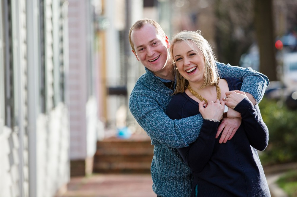 Old Town Alexandria_Engagement Photos