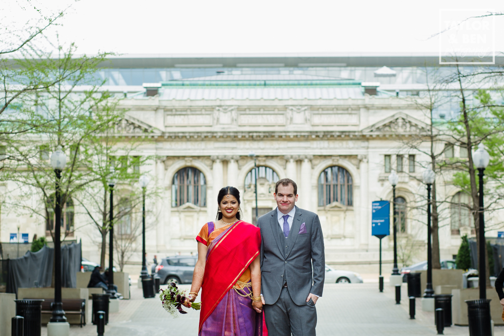 Carnegie Library Wedding_DC_Indian Fusion-007