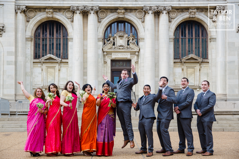 Carnegie Library Wedding_DC_Indian Fusion-008