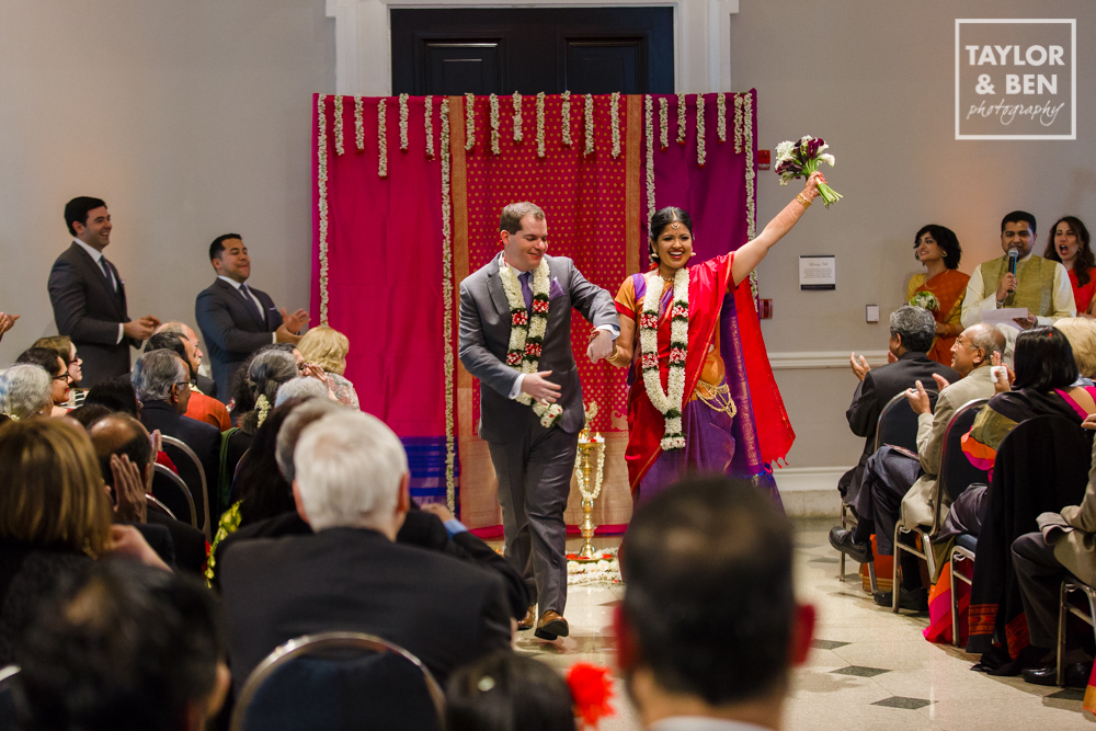 Carnegie Library Wedding_DC_Indian Fusion-013